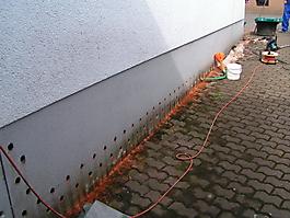 Abdichtung und Trockenlegung